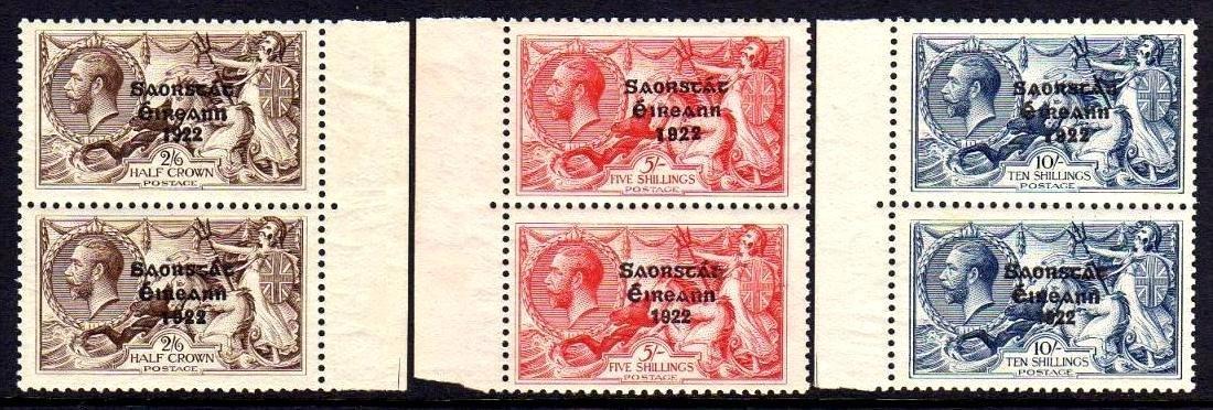 1927 Composite set 2/6 to 10/-
