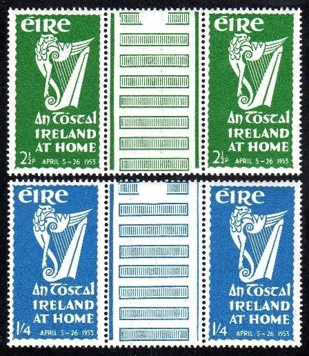 Commemorative: 1953 An Tostal gutter pairs