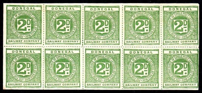 Irish Railway: Donegal Railway 1895-96 2d