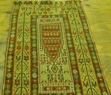 2: Turkish Kilim  2.10 x 5.2