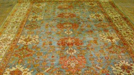 5:  Oushak Carpet    9.7 x 12.10