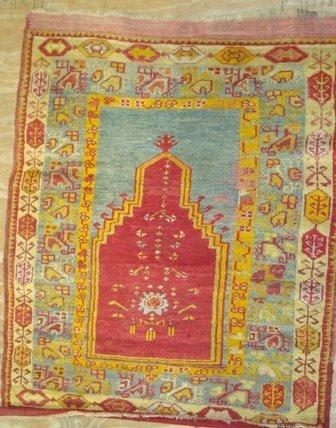5A: Turkish Prayer Rug     3.0 x 4.0