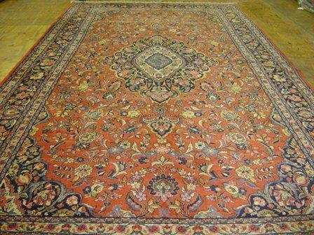 6: Sarouk Carpet   18.10 x 9.10