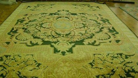 13: Savonerie Carpet  10.11 x 16.2
