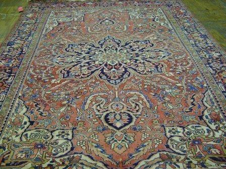14: Heriz Carpet  9.0 x 12.0