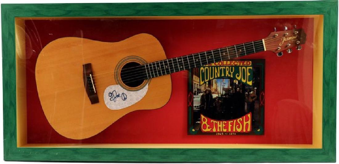 The Collected Country Joe and the Fish Signed Guitar