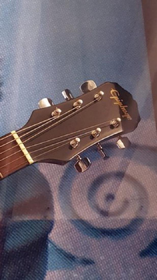 Van Morrison Signed Guitar Framed - 3