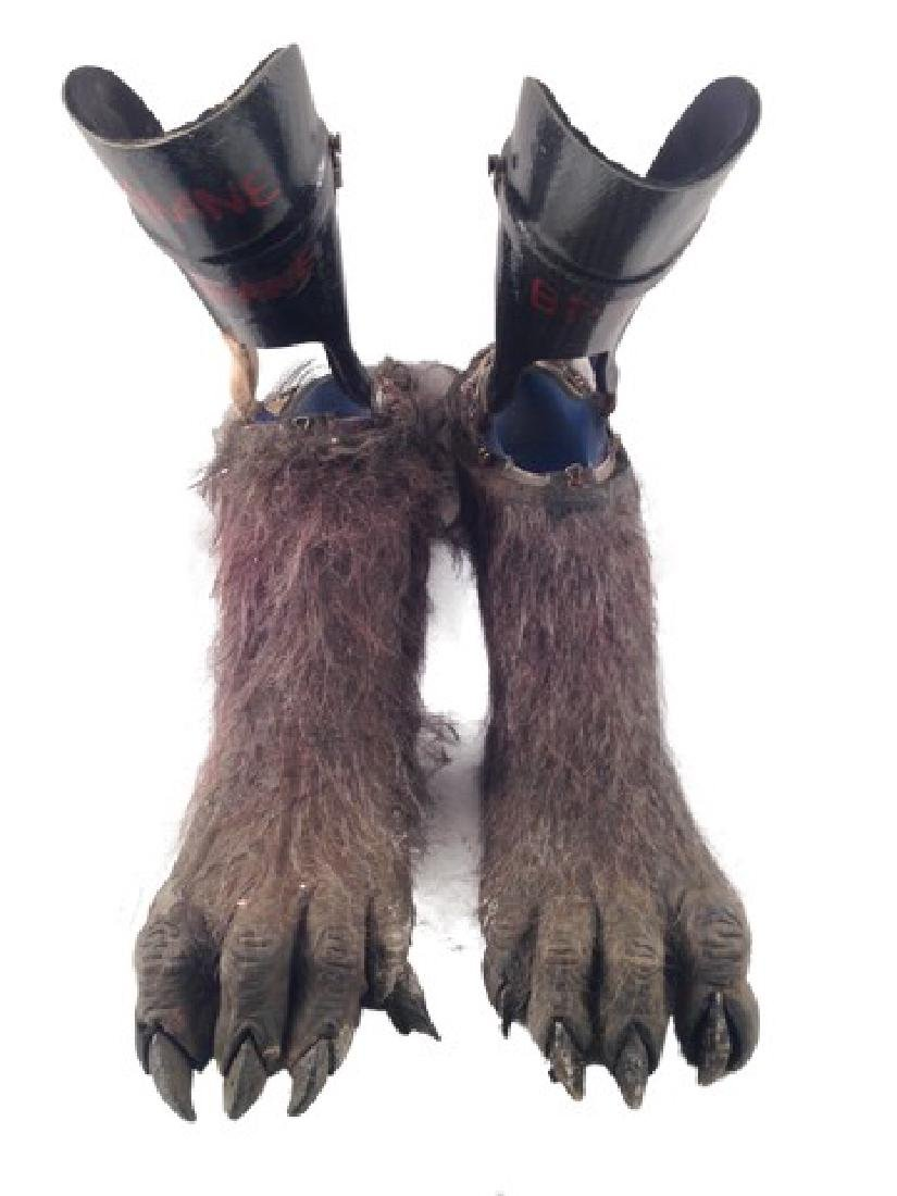 Underworld: Rise of the Lycans Lycan Feet Movie Props