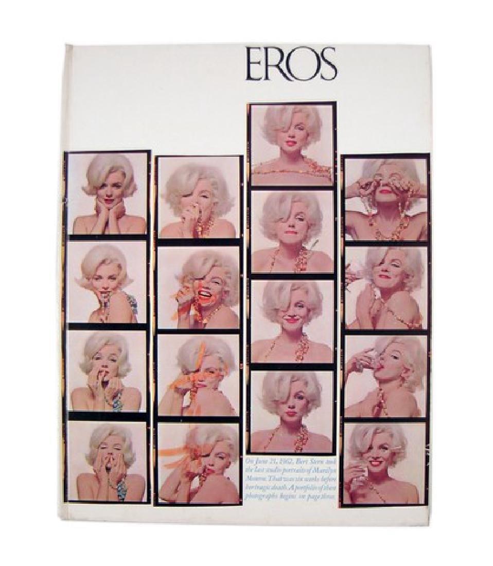 Eros Magazine Marilyn Monroe - Bert Stern Photo Issue