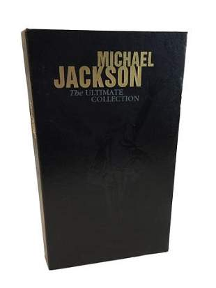 Michael Jackson The Ultimate Collection Signed CD Case