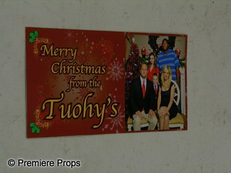 116: The Blind Side Tuohy Family Christmas Card