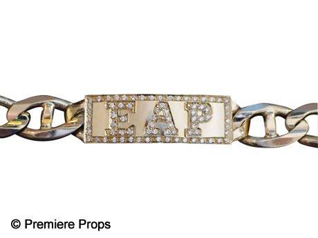 343: Elvis Presley Initials Diamond Bracelet