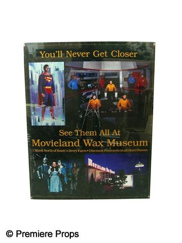 107: Movieland Wax Museum Framed Poster