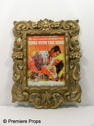 "109: ""Gone with the Wind"" Framed Poster"