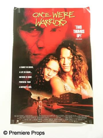 "113: ""Once Were Warriors"" Poster"