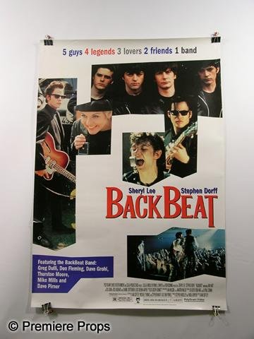 "326: ""Backbeat"" Movie Poster"