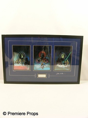 115: Star Wars Signed LE Box Art Framed