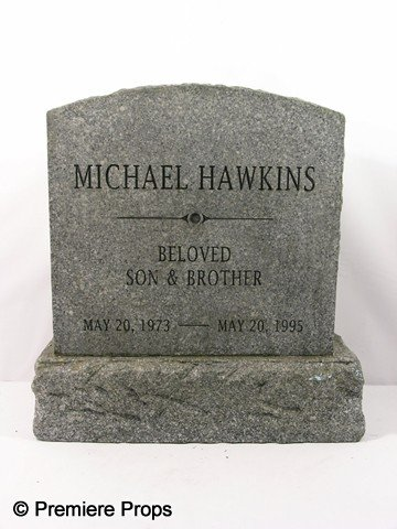 223: Remember Me Michael Hawkins Tombstone Movie Props
