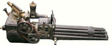 113: Wild Wild West Screen Used Gatling Gun Movie Props