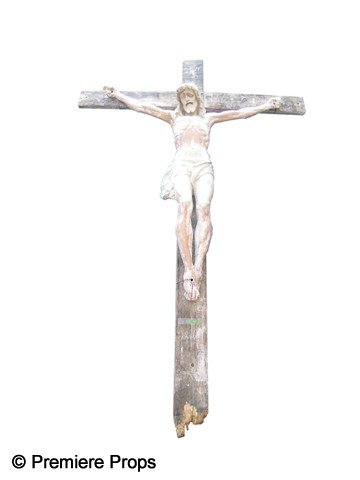 119: Exorcist: The Beginning Crucifix Movie Props