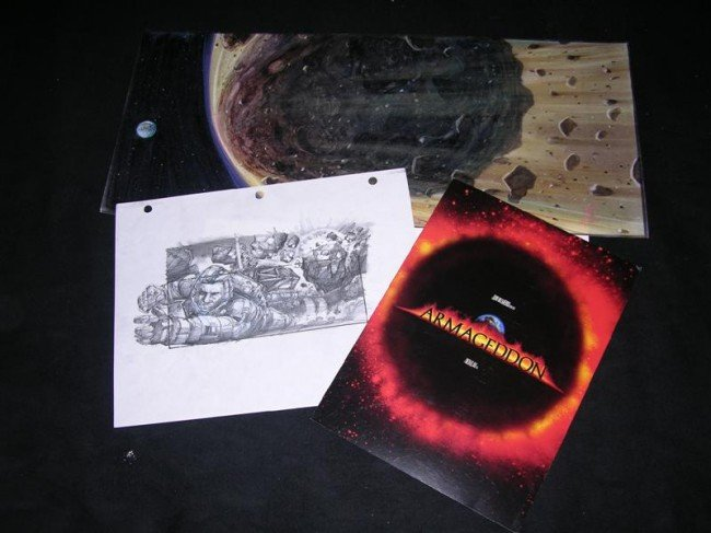 3: ARMAGEDDON - Concept Artwork and Storyboard