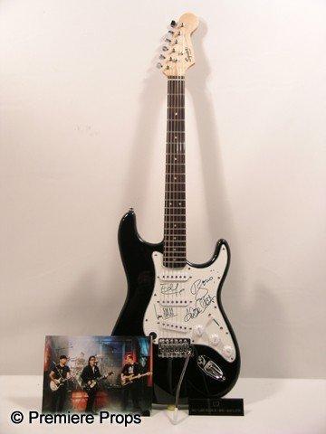 864: U2 Autographed Guitar