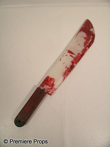 101: Scream 4 Bloody Knife Movie Props