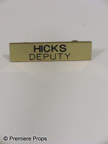 113: Scream 4 Deputy Hicks (Marley Shelton) Name Pin Mo