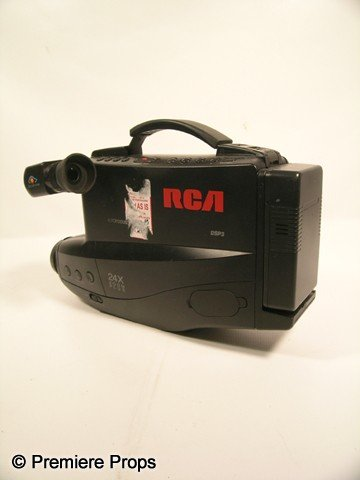 120: Scream 4 Video Camera Movie Props