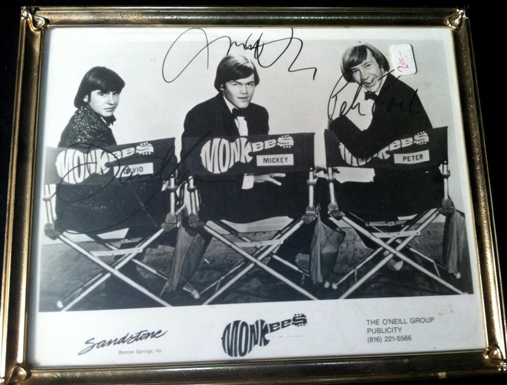 7: The Monkees Autographed Photo