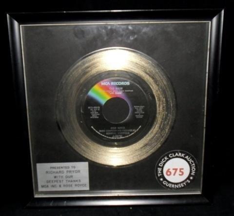 "10: Richard Pryor ""Car Wash"" Record"
