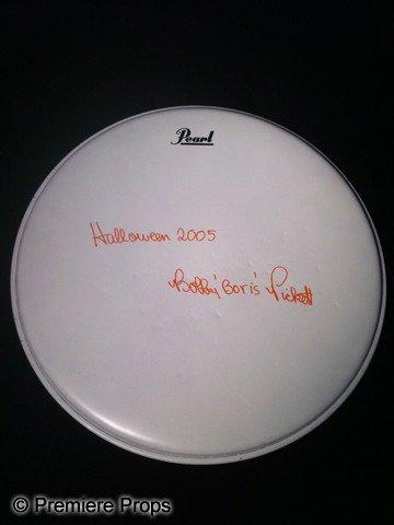 "11: Bobby ""Boris"" Pickett Autographed Drum Head"