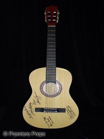 15: The Partridge Family  Autographed Guitar