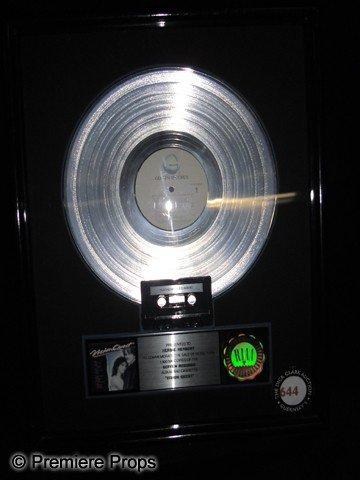 17: Herbie Hancock Platinum Record for Vision Quest