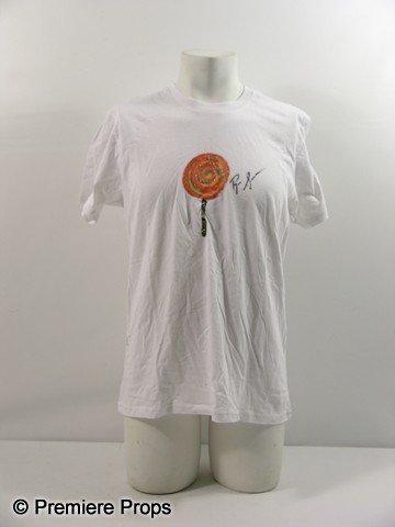 22: Ryan Seacrest Hand Painted   Autographed Shirt