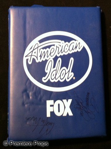 23: American Idol Autographed Seat Cushion