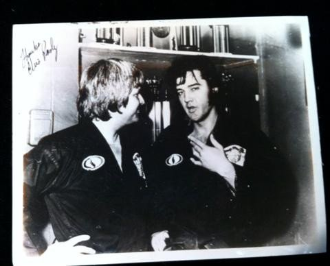 79: Elvis Presley Autographed Photo
