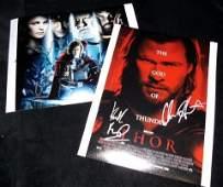 426 Thor 2011 Autographed Cast Photos