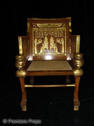 972: The Ten Commandments (1956) Egyptian Royal Chair