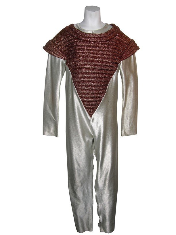 2: Gold and White Outer Space Costume