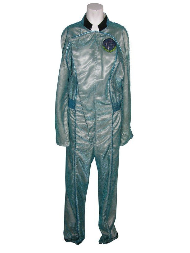 3: Blue Outer Space Costume