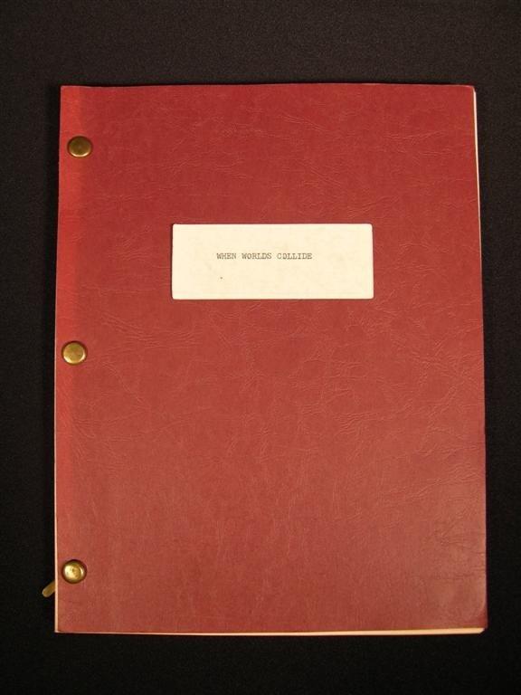 4: When Worlds Collide Original Script