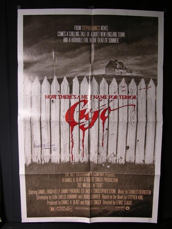 6: Cujo (1983) Signed Poster