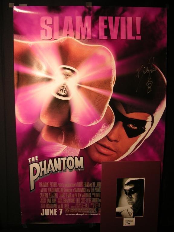 16: The Phantom (1996) Billy Zane Movie Memorabilia