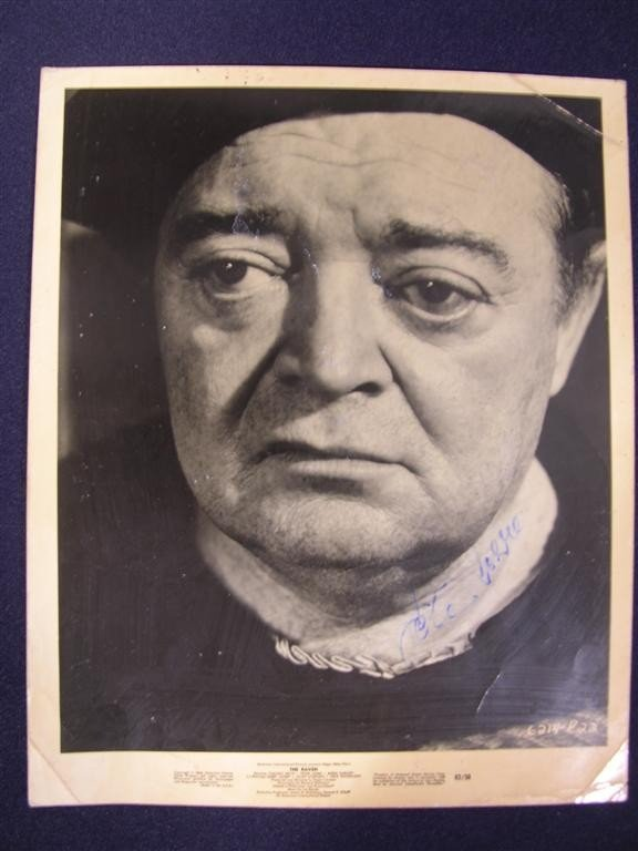 17: Peter Lorre Autographed Photo