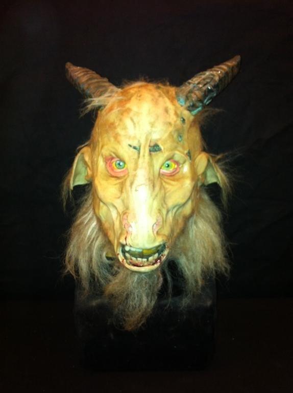 18: Goat Devil Mask from Kill Devil Hill