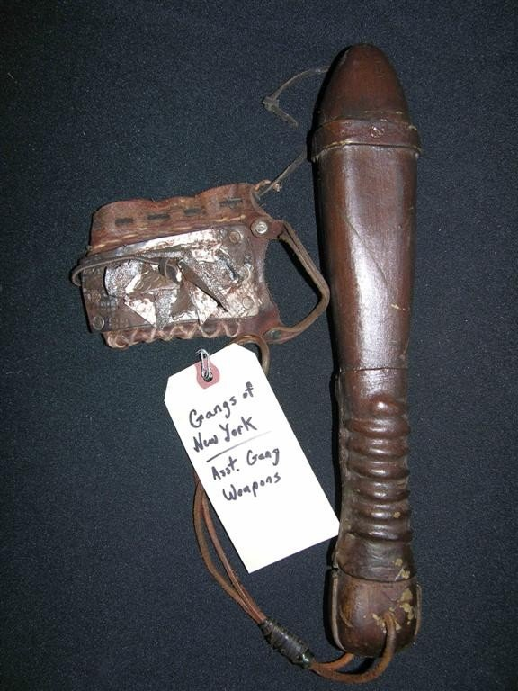 23: Prop Weapons from Gangs of New York (2002)