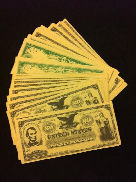 512: Back To the Future Part III Prop Money