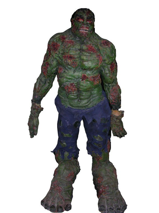 513: Zombie Hulk Complete Costume