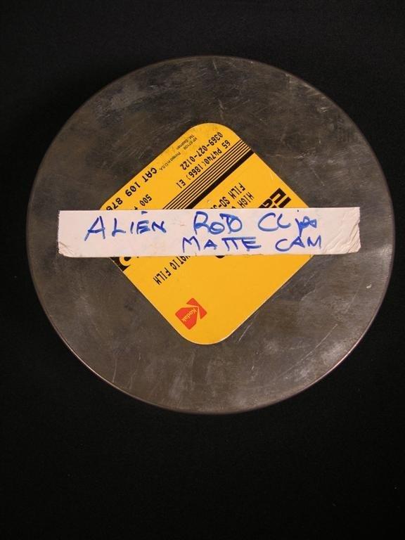 525: Alien 3 Special Effects Film Rolls